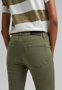 edc by Esprit - Slim fit jeans - khaki green - 3