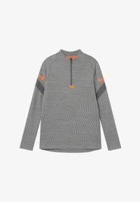 smoke grey/heather/total orange