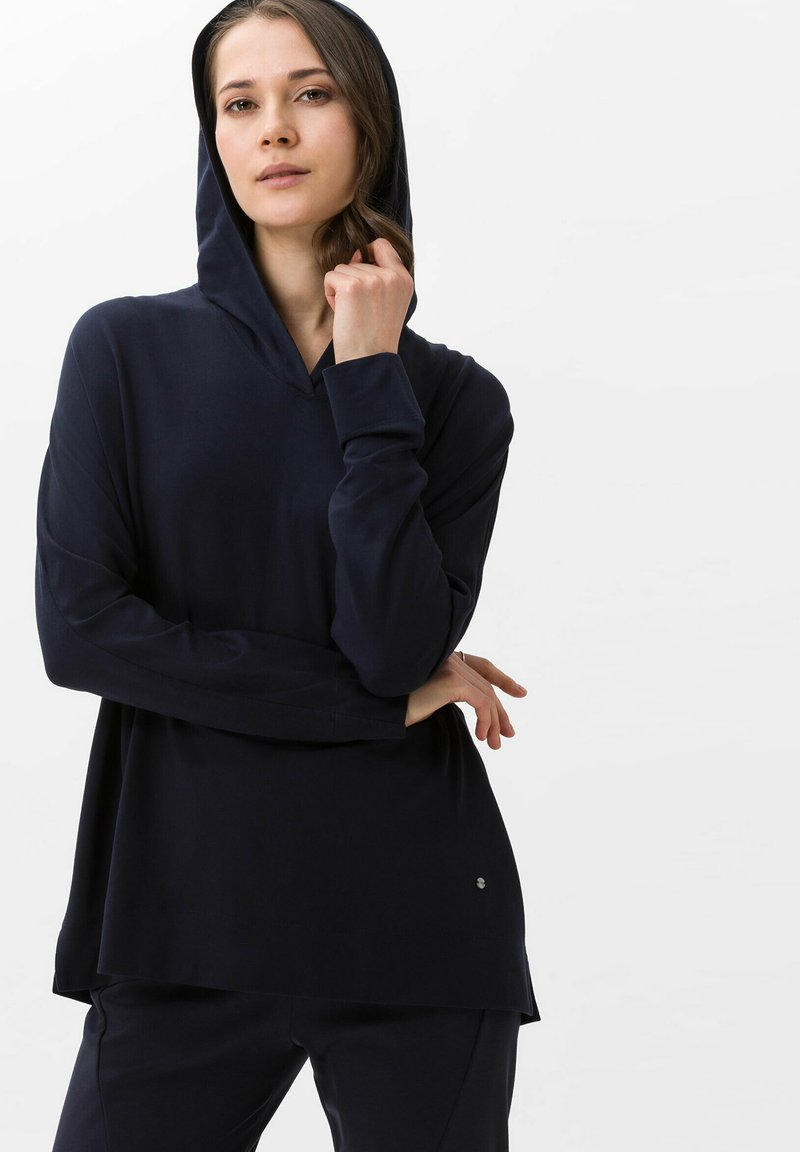 BRAX - STYLE BEA - Long sleeved top - navy