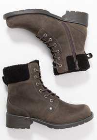Clarks - ORINOCO DUSK - Lace-up ankle boots - dark grey - 3