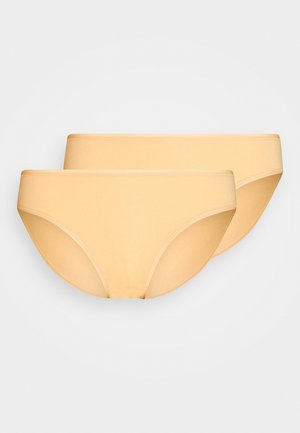 2 PACK - Briefs - nude