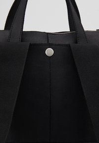 Zign - UNISEX -LEATHER - Rucksack - black - 5