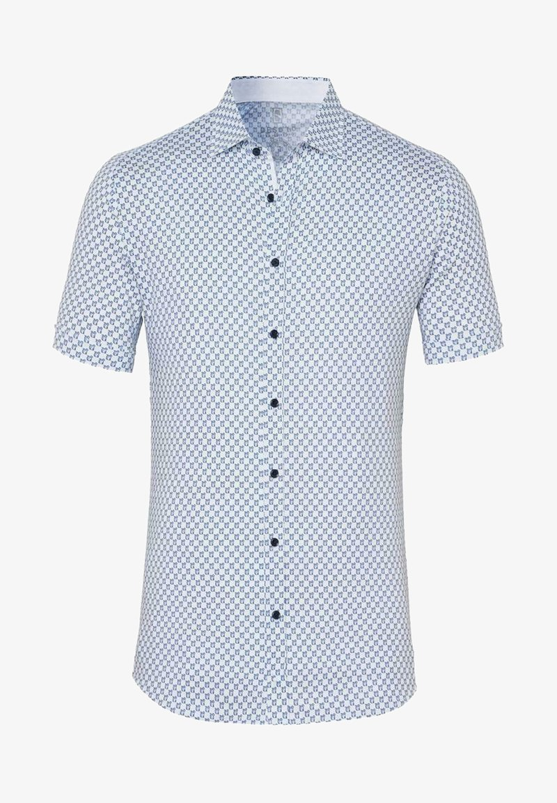DESOTO - Shirt - white  blue apes