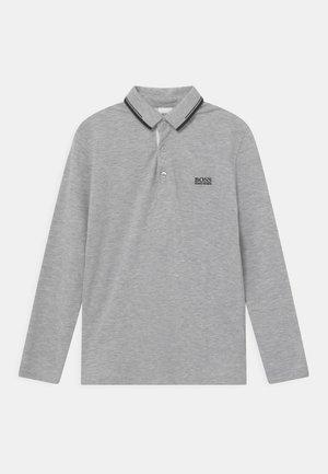 LONG SLEEVE - Poloshirt - chine grey