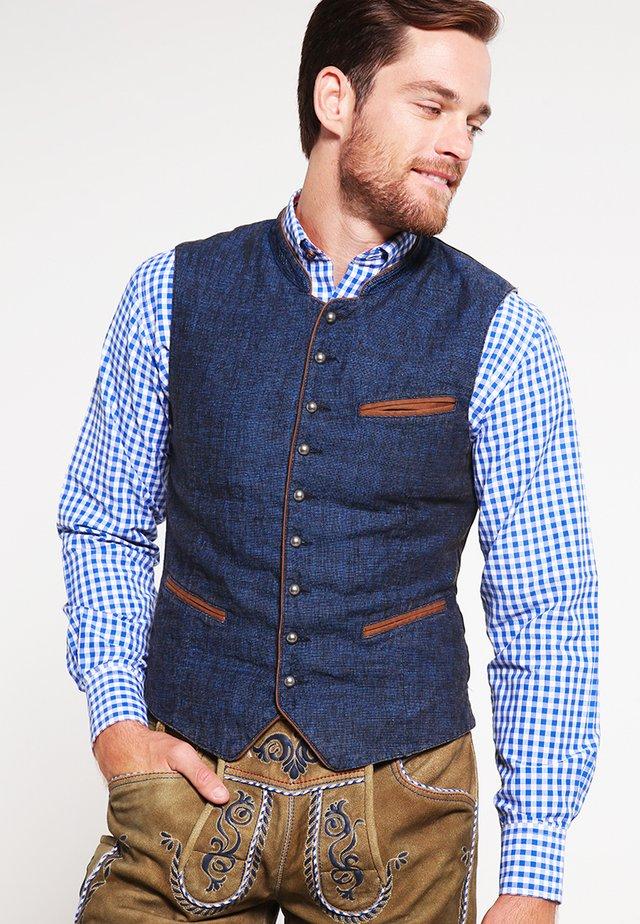 Waistcoat - blue