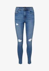 Vero Moda - VMTANYA  - Slim fit jeans - medium blue denim - 4