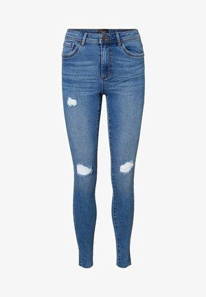 VMTANYA  - Slim fit jeans - medium blue denim