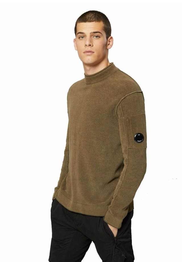 Maglione - dusty olive