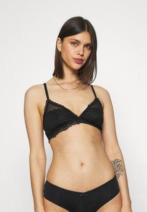 TRIBAL  - Triangle bra - true black
