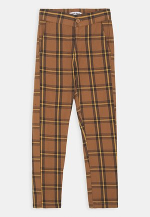 KENNETH CHECK - Trousers - chipmunk