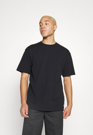 OVERSIZE PLAIN SYNERGY - Basic T-shirt - black