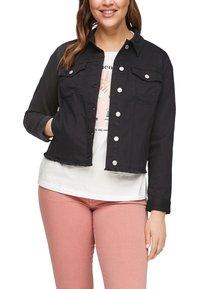 s.Oliver - Denim jacket - black - 5