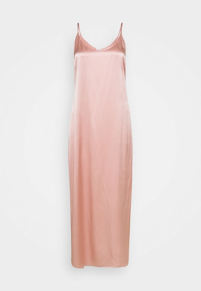LONG SLIPDRESS - Camicia da notte - pink powder
