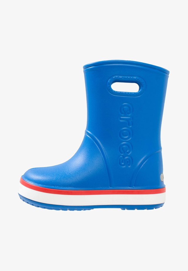 Wellies - bright cobalt/flame