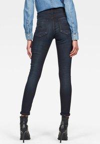 G-Star - HIGH SKINNY - Jeans Skinny Fit - dark-blue denim - 1