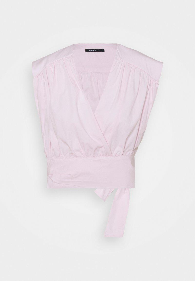 Gina Tricot - KELLY BLOUSE - Print T-shirt - lilacsnow
