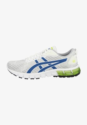 Stabilty running shoes - white-directoire blue