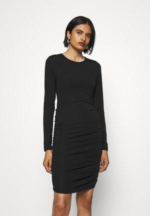 JEFFERSON DRESS - Žerzejové šaty - black