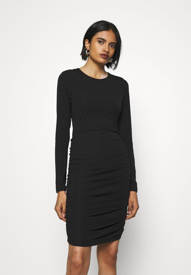 JEFFERSON DRESS - Jersey dress - black