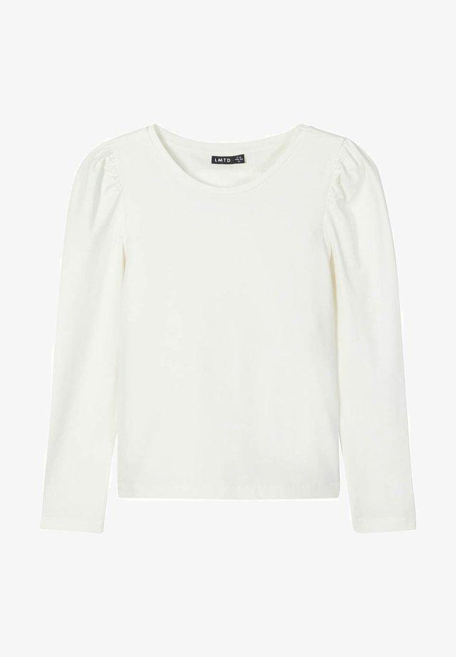 Pitkähihainen paita - snow white