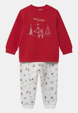 PRINT - Pijama - scarlet