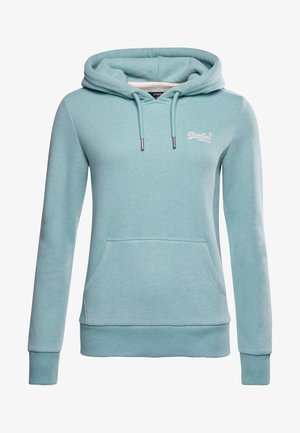 ORANGE LABEL - Hoodie - turquoise