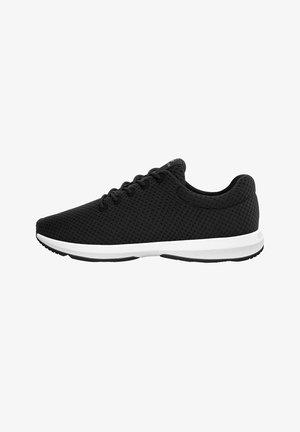 WOOD SNEAKER WOMEN - Sneakers laag - zwart