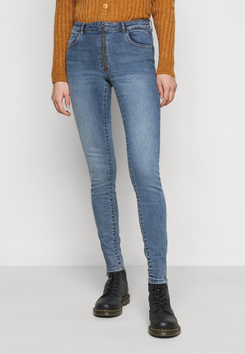 Noisy May Tall - NMKIMMY - Jeans Skinny Fit - medium blue denim