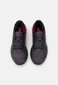 ASICS - DYNABLAST - Neutral running shoes - black/pink glow - 3