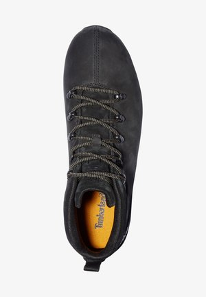 SPLITROCK - Casual lace-ups - black nubuck