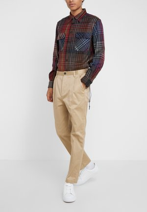 BOSTON  - Spodnie materiałowe - sand
