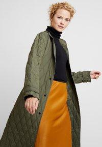 InWear - GURLI COAT - Zimní kabát - beetle green - 4