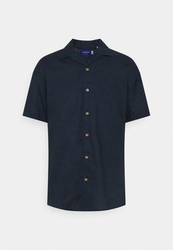 JORTOWER - Vapaa-ajan kauluspaita - navy blazer