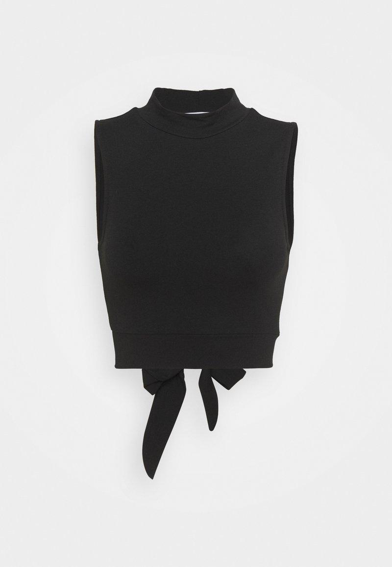 ONLY - ONLLIVE LOVE BACK DETAIL - Débardeur - black