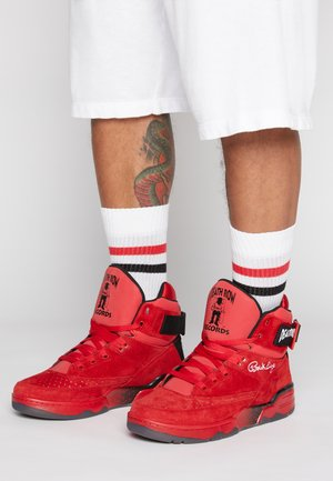 33 DEATH ROW - Höga sneakers - red