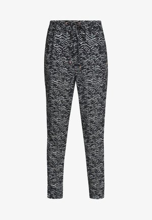 SELBY BEACH  - Trousers - black/green