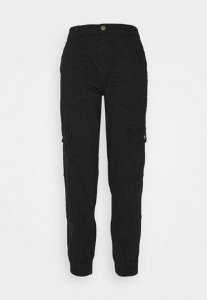 ONLGIGI CARRA LIFE  - Cargo trousers - black