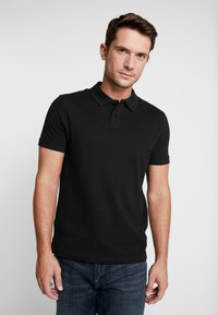 Pier One - 2 PACK - Poloshirt - petrol/black - 2
