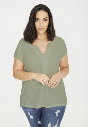 T-shirt basic - kakifarben