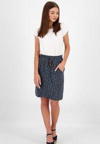 alife & kickin - LUCYAK  - Puffball skirt - marine - 1