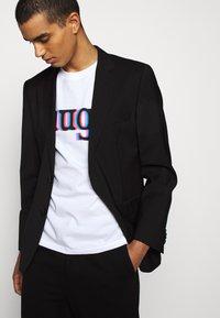 HUGO - DONTROL - T-shirt imprimé - white - 3