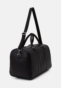 Zign - UNISEX LEATHER - Weekend bag - black - 1