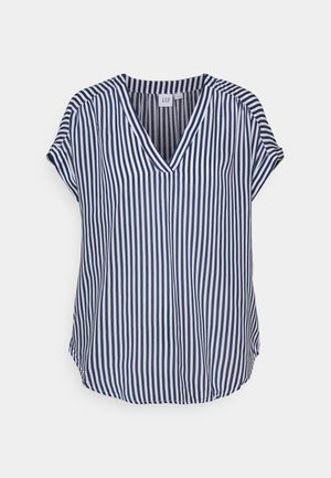 Print T-shirt - blue stripe