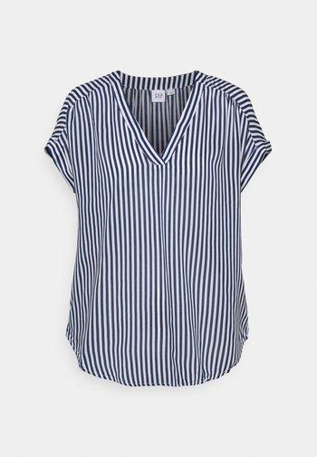 T-shirt con stampa - blue stripe