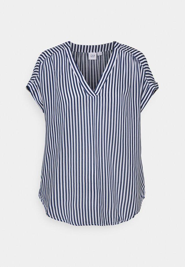 T-shirt med print - blue stripe