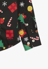 OppoSuits - KIDS CHRISTMAS ICONS - Shirt - black - 3