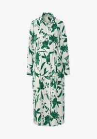 PETER HAHN - Shirt dress - weiß/grün/multicolor - 5