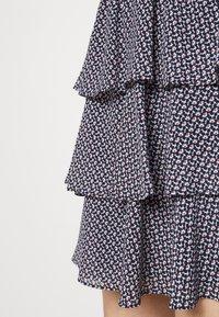 MICHAEL Michael Kors - MINI FLORAL - Mini skirt - blue - 4