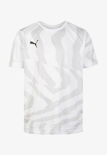 CUP CORE - Print T-shirt -  white / black