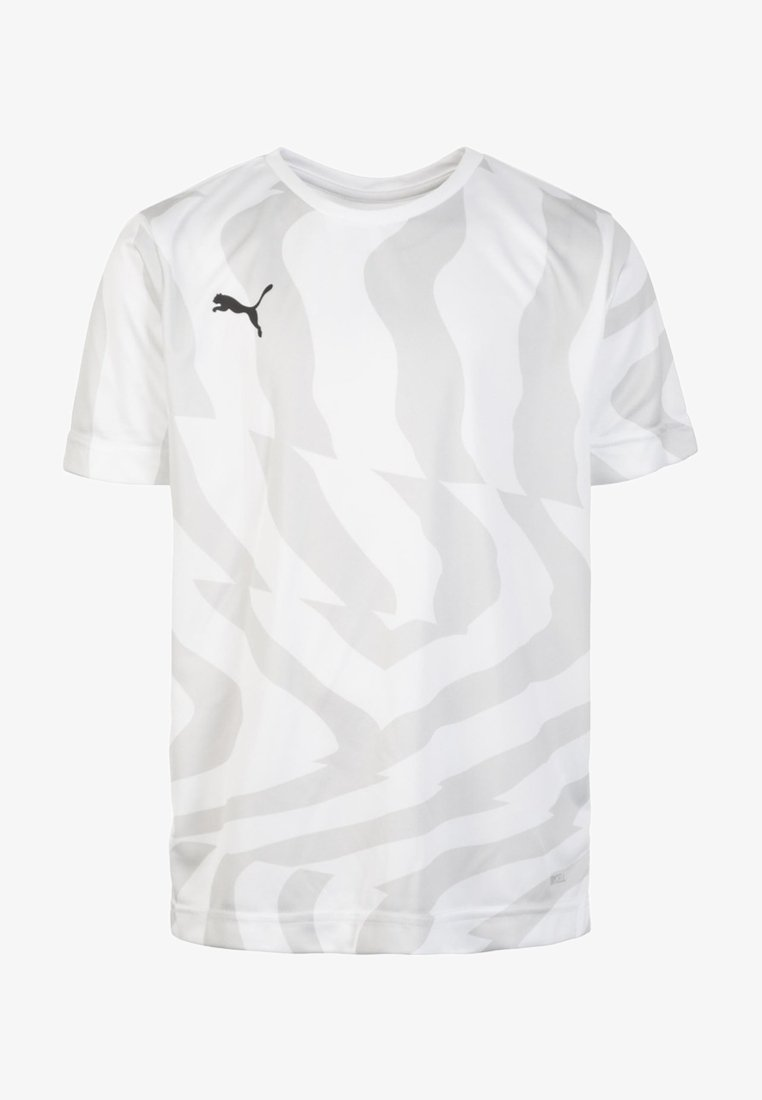 Puma - CUP CORE - Print T-shirt -  white / black